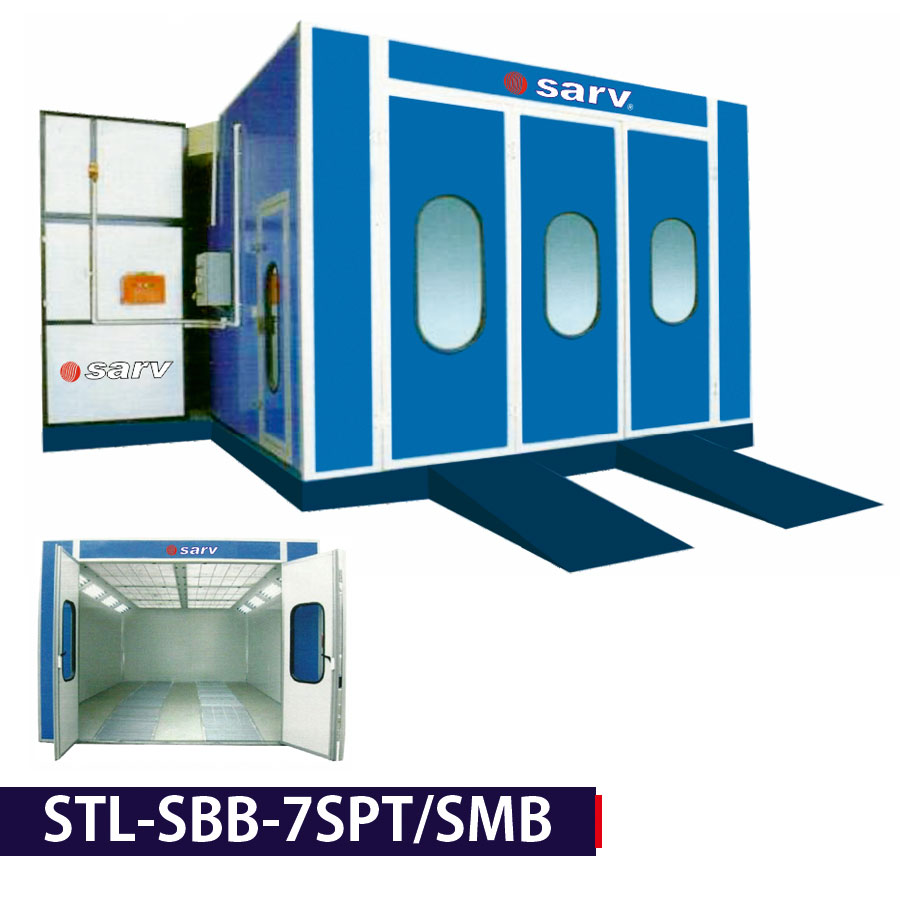 Spray and Bake Paint Booth
