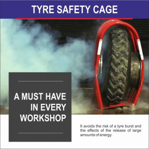Tyre Cage : A MUST HAVE in every workshop